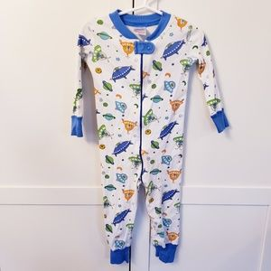 Hanna Andersson pajama 18-24 month space one piece